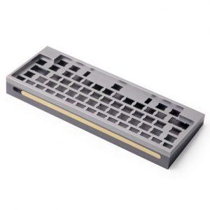 Custom CNC precision milling aluminum keyboard rapid