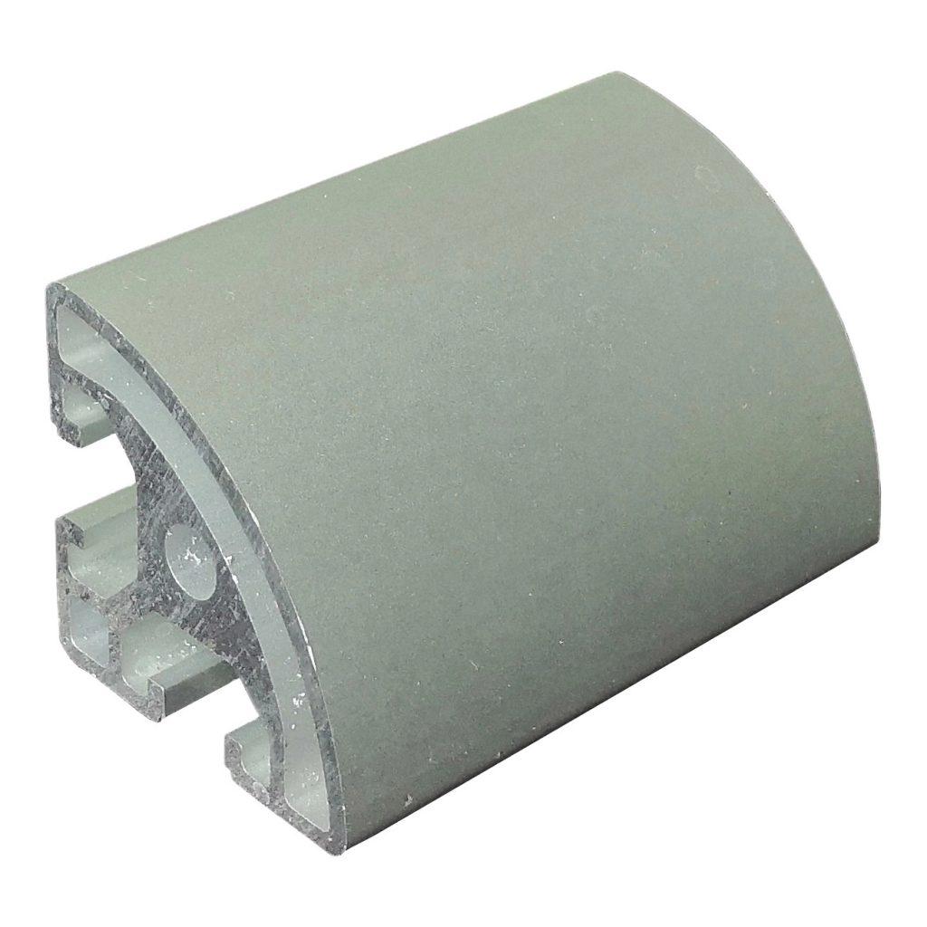 Customized aluminum extrusion profile part