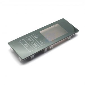 Household refrigerator control panel IML/IMD technology