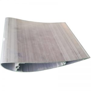 Matt anodizing extruded wing aluminum airfoil used in