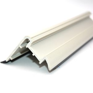 PVC U Shaped Plastic Profile Extrusion Door Frame Profile