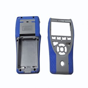Customized over molding of remote control cover