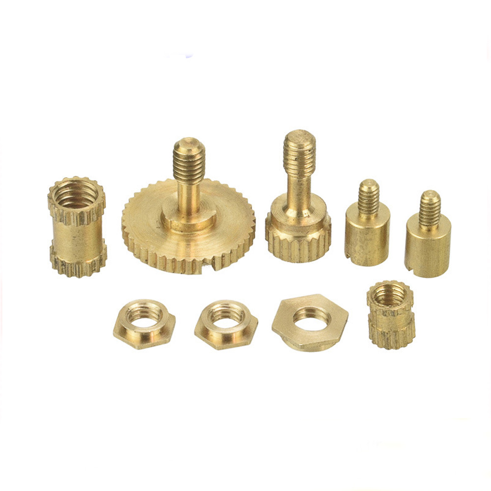 Brass CNC machined machining spare parts for motorcycle