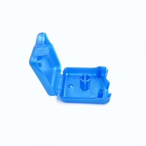 Custom made blue PP Plastic Molding Case