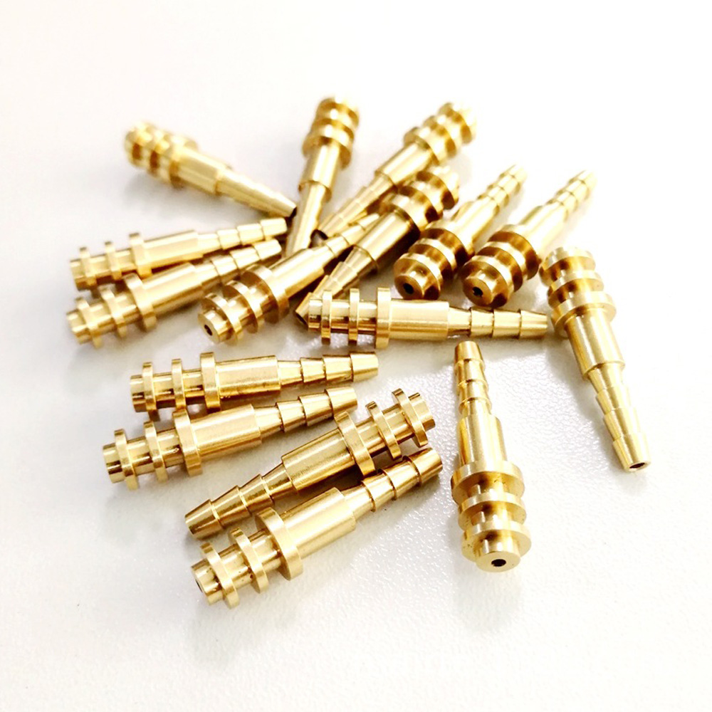 Copper screw process by CNC machined machining