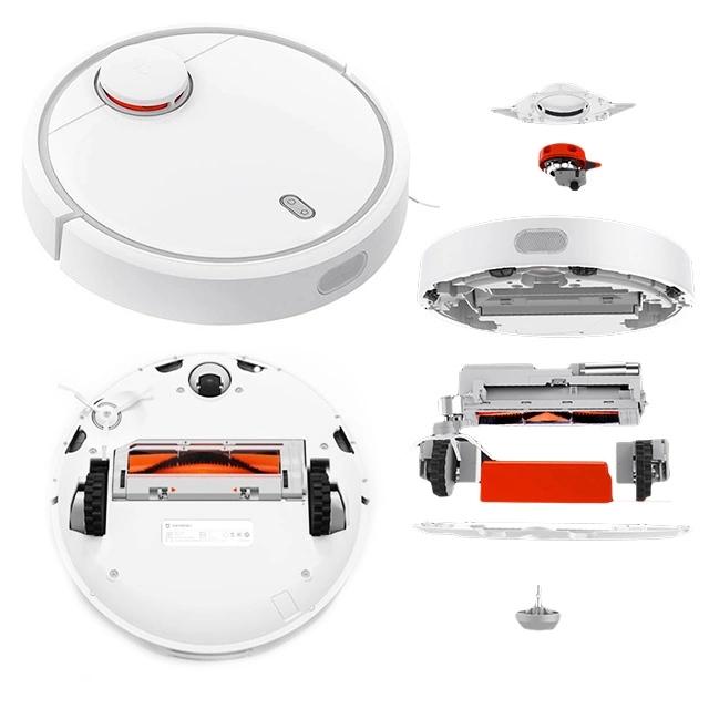 Custom Plastic Injection Molding Vacuum Cleaner Robot Intelligent Household