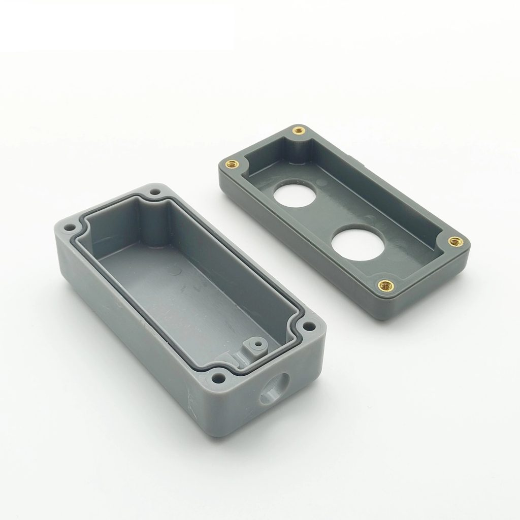 Customized Moulding Plastic Products for button box