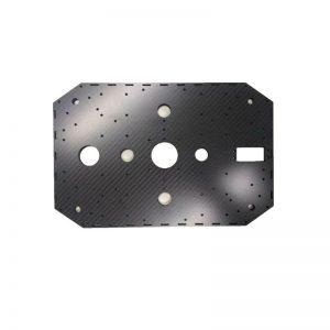 Customized Drone Parts Carbon Fiber Plates