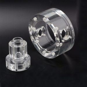 PMMA / Acrylic CNC milling parts rapid prototypes custom