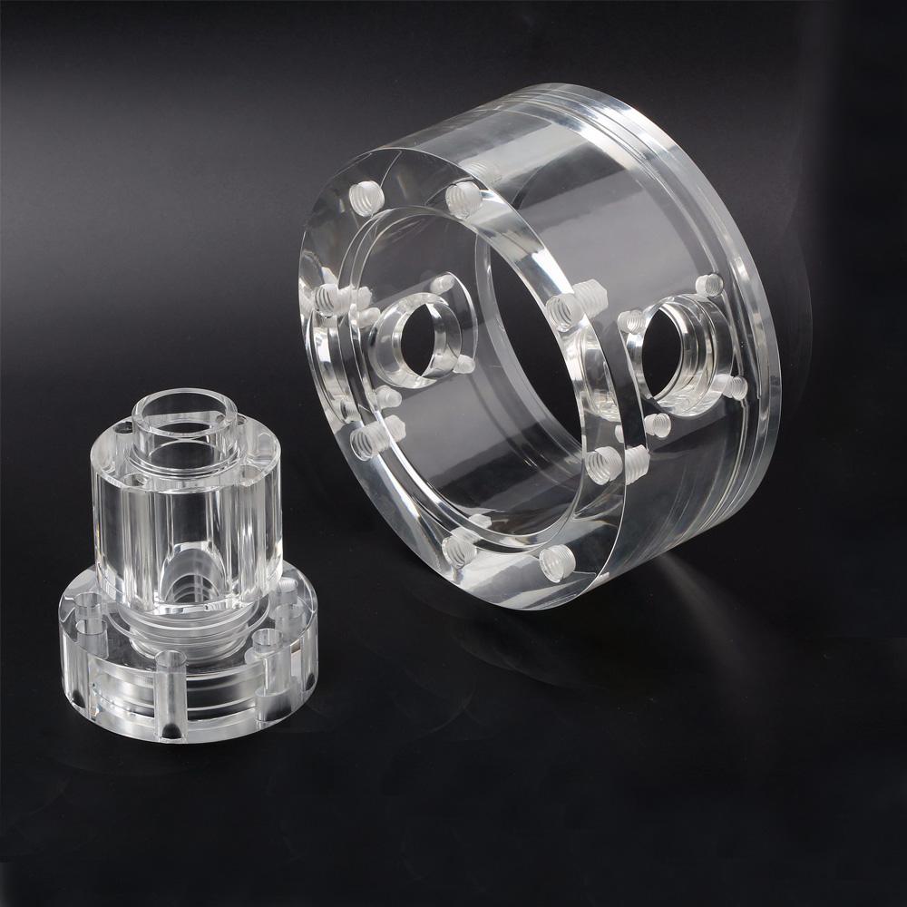 PMMA Acrylic CNC milling parts