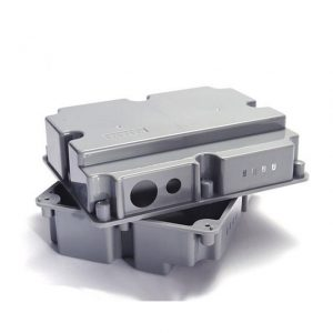 injection mold plastic enclosure for electronics