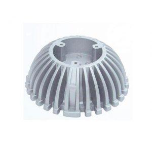 Custom aluminium auto parts die casting radiator