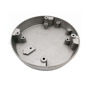 Die cast factory supplied die casting aluminium cover parts