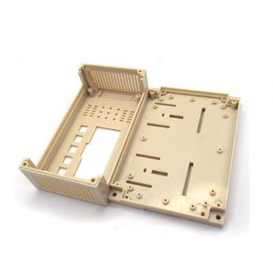 plastic mold and injection molding plastic enclosure for