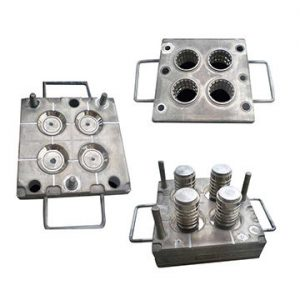 Customized metal mold for silicone rubber parts