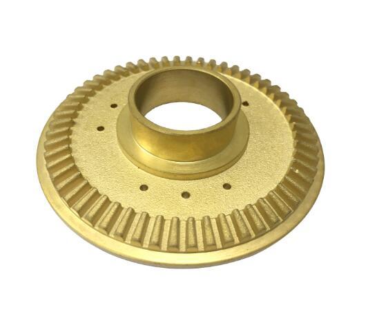 gold powder coating part