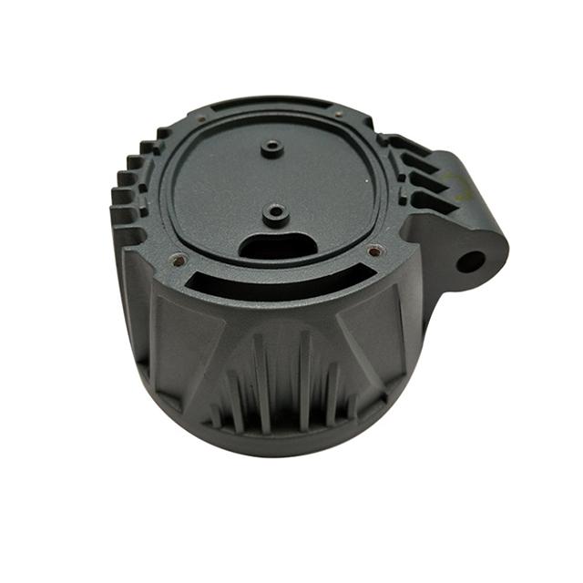 black anodized aluminium parts