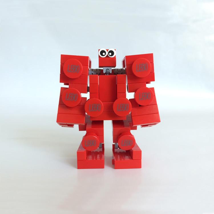 Plastic Lego building block brick