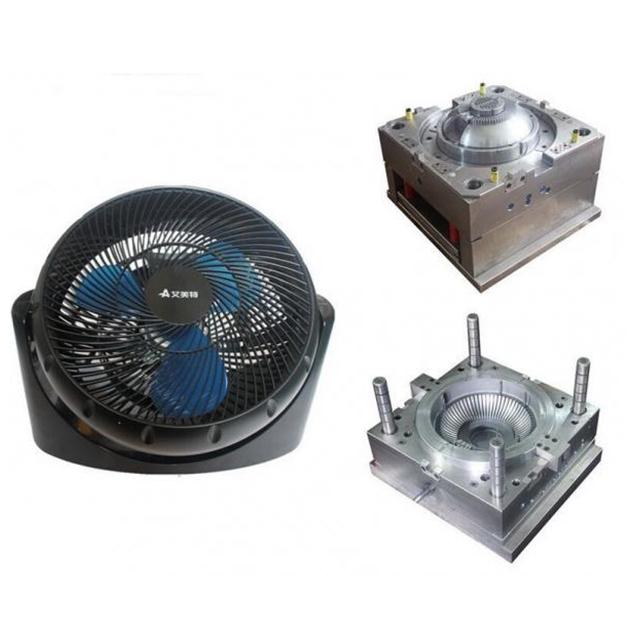 Plastic electronic fan mold