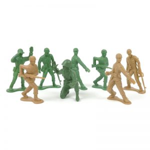 High Quality Plastic kids toy OEM Mold design Soldier figure